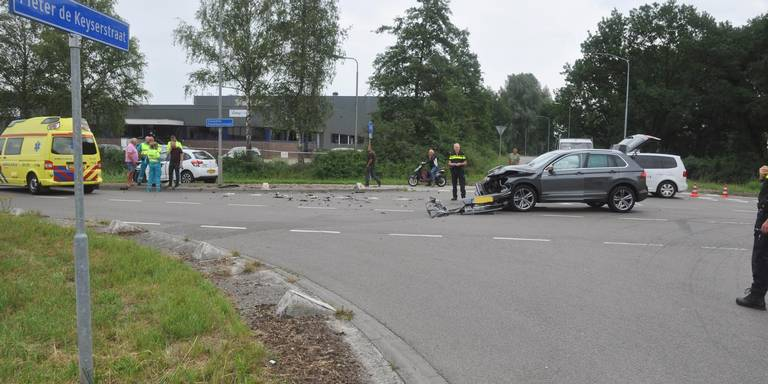 Gewonde door aanrijding in Emmen.
