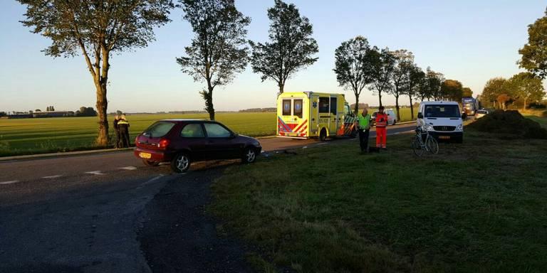 Ernstig ongeval Stedumerweg in Bedum.