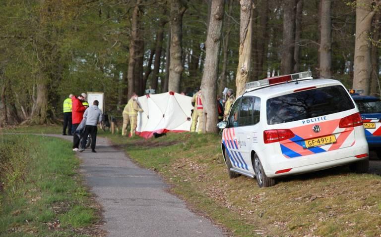 Motorrijder zwaargewond bij eenzijdig ongeval in Eelde.