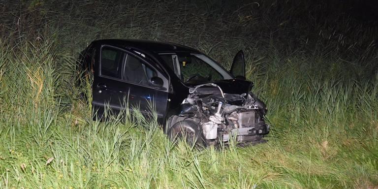 Gewonde bij ongeluk op A7 bij Scheemda.