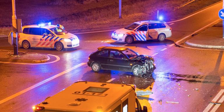 Drie gewonden bij botsing Appingedam.