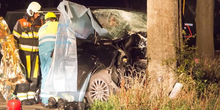 Gewonden na ernstig ongeval Zevenhuizen.
