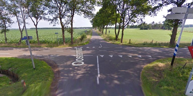 Automobilist gewond bij botsing in Stuifzand.