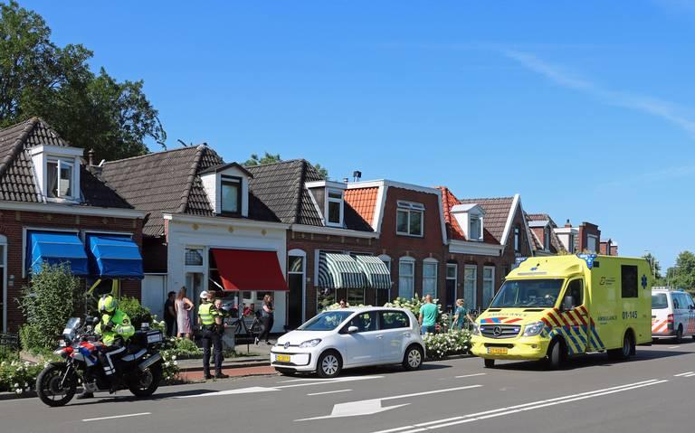 Automobilist naar het ziekenhuis na ongeluk in buitengebied Enschede.