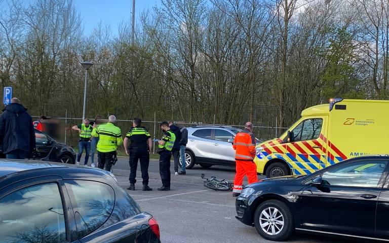Kind op fiets gewond bij aanrijding Bosweg in Loppersum.