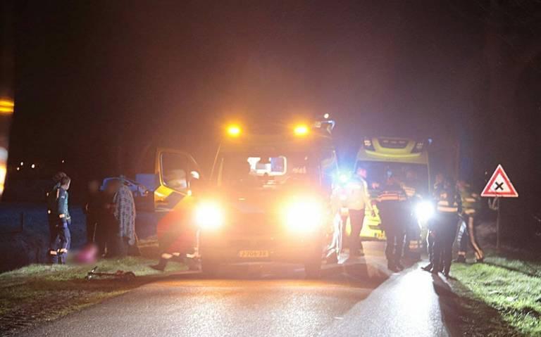 Jongetje van 5 overleden bij verkeersongeluk in Staphorst.