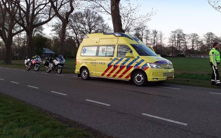 Fietser gewond bij aanrijding in Coevorden.