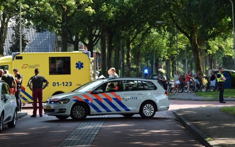 Fietser raakt zwaargewond bij aanrijding met auto in Haren.