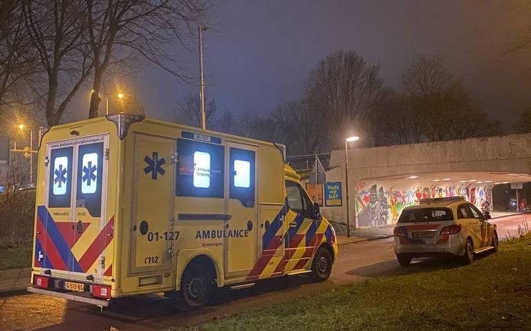 Fietser gewond bij botsing met elektrische step in Groningen.