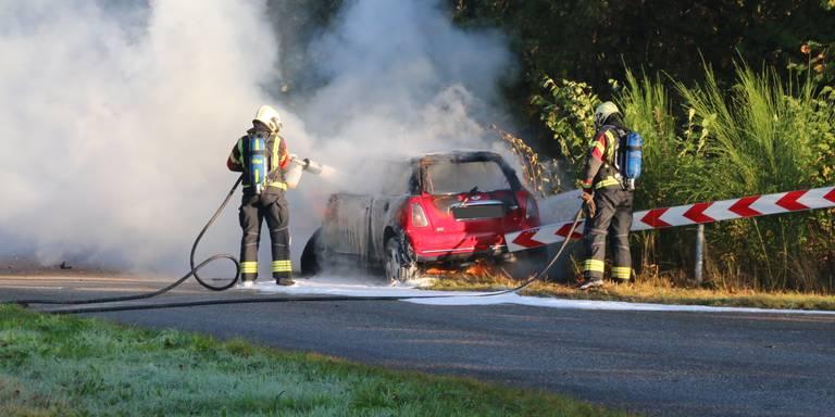 Dodelijk ongeluk op parallelweg N34 bij Odoorn.